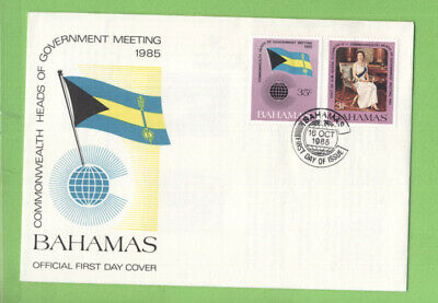 Bahamas 1985 Commonwealth Heads of Government Meeting First Day Cover