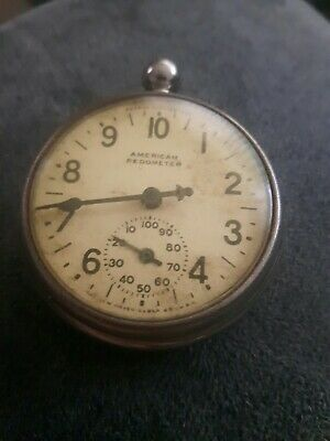 VINTAGE AMERICAN, NEW HAVEN CLOCK Co USA,  PEDOMETER.