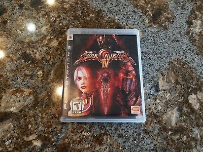 Soul Calibur IV  -- Sony Playstation 3 PS3 -- C+ CONDITION