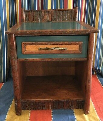 Disney Wilderness Lodge Night Stand Guest Room Prop Old Hickory Furniture Co