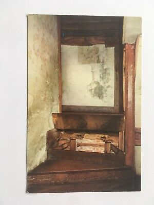 Hiding Place Under Stairs, Harvington Hall - Old Postcard - Unposted
