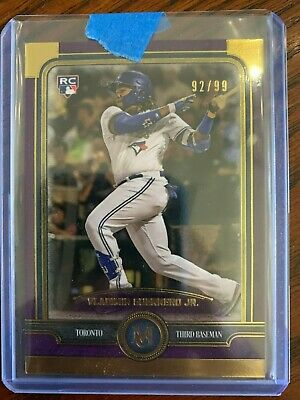 2019 Museum Vladimir Guerrero Jr. Rookie Card RC /99   BLUE JAYS