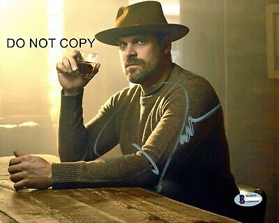 David Harbour Signed 8x10 Autographed REPRINT PHOTO Stranger Things RP
