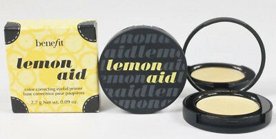 Benefit Lemon Aid Color Correction Eyelid Primer Full Size New In Box