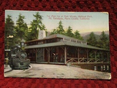 1911. The Muir Inn. Muir Woods. California. Postcard M7