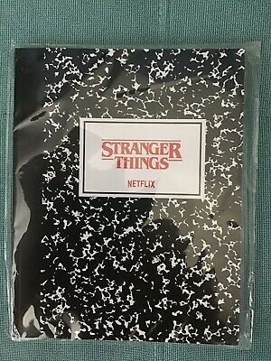 Stranger Things Notebook - netflix official merchandise & Movie