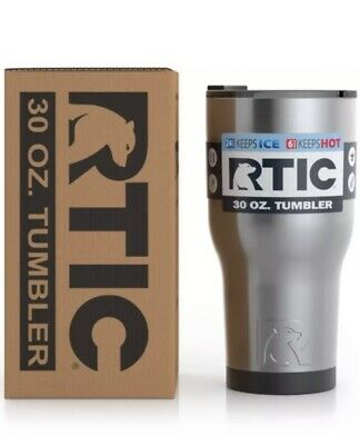 2019 RTIC 30 oz. Tumbler Stainless Steel Travel Cup Thermos Mug Vacuum Insulated