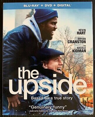 The Upside (Blu-ray+DVD, 2018, 2-Disc Set) No Digital. Viewed once.
