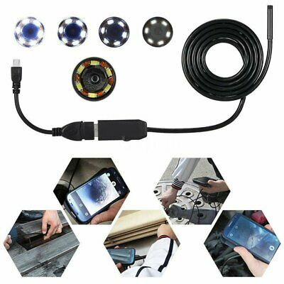 7mm Lens Endoscope Waterproof Inspection Borescope Tube Camera For OTG Android