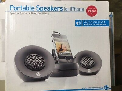 5 Pack New: Portable Speakers for iPhone -Black, Digital Lifestyle Outfitters