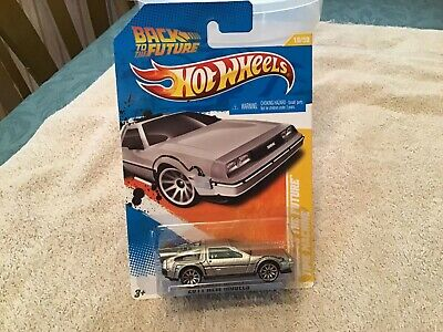 2011 Hot Wheels ~ New Models ~ Back to the Future Time Machine