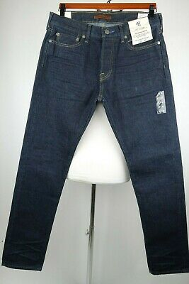 Abercrombie Fitch Selvedge Jeans Men Size 32 x 32 Slim Fit MSRP $160