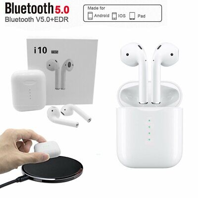 i13 i10 TWS Bluetooth 5.0 Earphones Headset Wireless Headphone Earbuds ear pods
