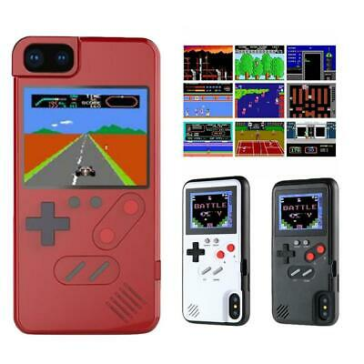 Retro Real Game Console Play Gameboy Tetris Phone Case for iPhone Xr Xs 7/8 Plus
