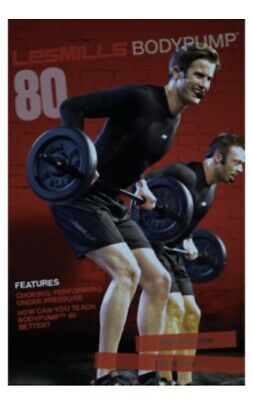 Les Mills BODYPUMP 80 DVD/CD pack inc Notes