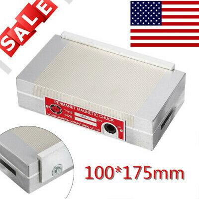 Magnetic Chuck Pole Permanent Powerful Rectangular Chuck for Grinding Machine US