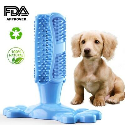 Dog Toothbrush Chew 5 Colors Cleaning Toy-Silicone Pet Brushing Oral Dental Care