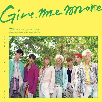 VAV GIVE ME MORE Summer Special Single Album CD+Photo Book+ 2p Card K-POP SEALED