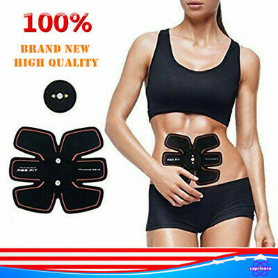 Ultimate Abs Stimulator Rechargeable Workout Abdominal Trainer Muscle Ab Toner