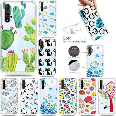 Funny Cute Printed HC-1 Ultra-Thin Clear Soft TPU Case Cover Skin For Lot Phones