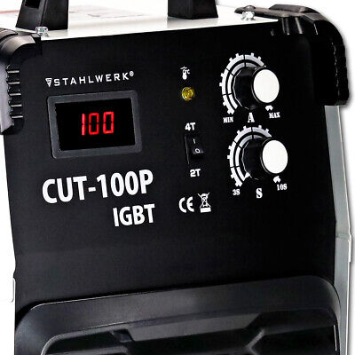 Plasma Cutter STAHLWERK CUT 100 IGBT - PILOT IGNITION /Cutting power up to 40 mm