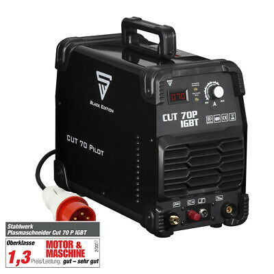 Plasma Cutter STAHLWERK CUT 70 IGBT - PILOT IGNITION - Cutting power up to 25 mm