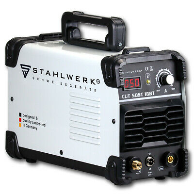 PLASMA CUTTER CUT 50 ST IGBT STAHLWERK WELDING MACHINE /Cutting power up to 14mm