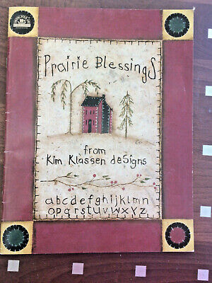 FOLK ART BOOK Prairie Blessings from Kim Klassen Designs - Primitive