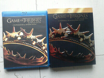 COFFRET BLU RAY GAME OF THRONES SAISON 2 ( lire l'annonce )