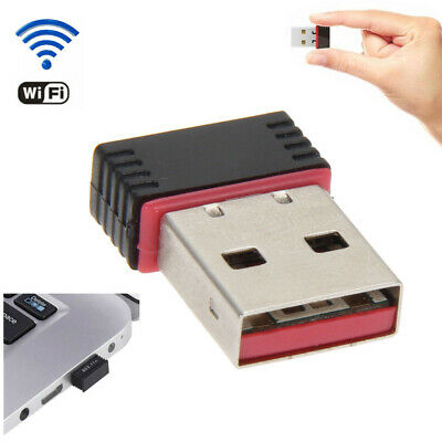 Mini USB WiFi WLAN 150Mbps Wireless Network Adapter 802.11n/g/b Dongle 2.4/5GHz