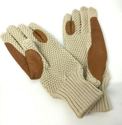 Crochet Gloves CREAM Dents Brand New in 1950s style One size also in Black