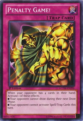 Penalty Game! Common Legendary Collection 3: Yugis World Yugioh Card