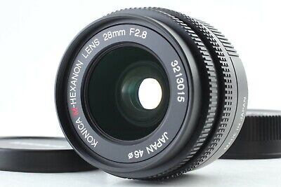 【Exhibit】 Konica M-Hexanon 28mm F/2.8 Lens for Leica M Mount From JAPAN #0743
