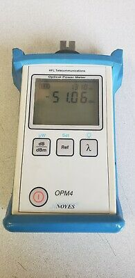 NOYES OPM4-2D Optical Power Meter with Wave ID and Set Reference