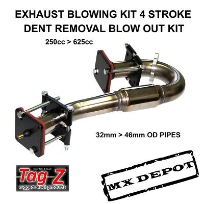Exhaust Pipe Dent Blow Out Kit - For All 4 Stroke Motocross Enduro Bikes