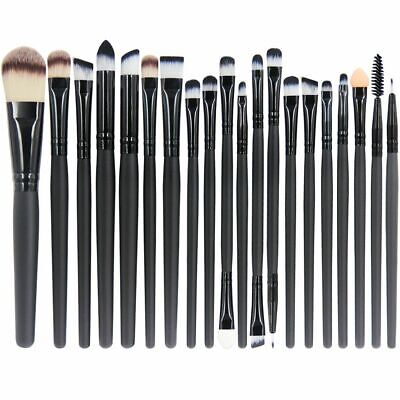 12tlg Make Up Pinsel Set Schminkpinsel Eyeliner Lidschatten Lip Kosmetik Kit