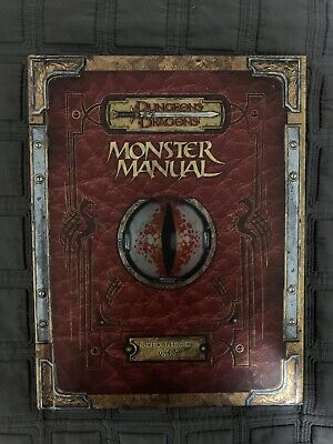 Dungeons & Dragons: Monster Manual - Core Rulebook III v.3.5 (Hardback)
