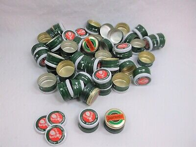 50 Cleaned Used Caps - Jagermeister Metal Bottle Caps - Different Kinds