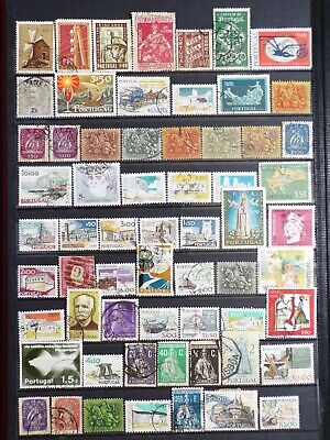 Collection Of Portugal Portuguese Stamps