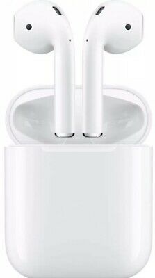 New Apple AirPods 2nd Generation with Wireless Charging Case White (MRXJ2AM)
