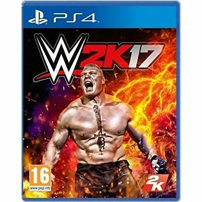 WWE 2K17 Wrestling PS4 For PlayStation 4 Very Good 5E