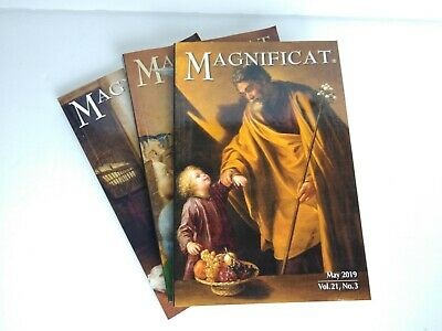 Lot of 3 Magnificat, May June and July 2019