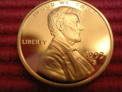 1993 S Lincoln Gem Proof Memorial Penny