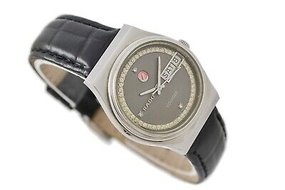 Vintage Rado Voyager Stainless Steel Automatic Midsize Watch 898