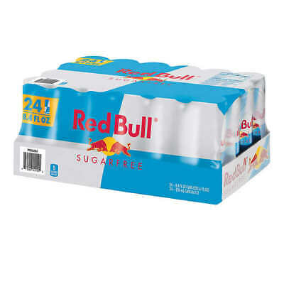 NEW Red Bull Sugar Free Energy Drink, 8.4 fl oz, 24-count FREE SHIPPING