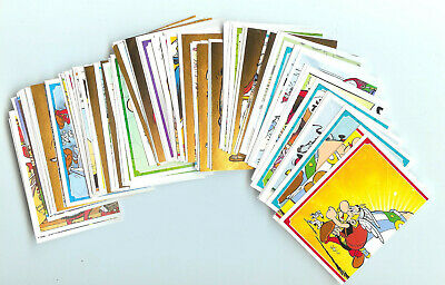 Superbe Lot De 16 Stickers 60 Ans D'aventures Asterix Carrefour Panini 2019
