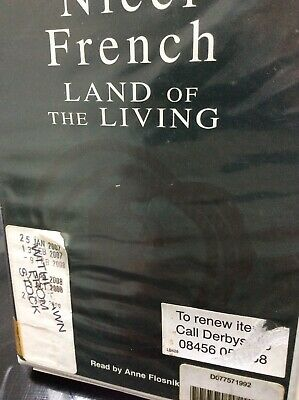 Rare Audio Book Land Of The Living Complete Nicki French Cassettes Approx 11 Hrs