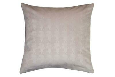 Karl Lagerfeld Square  Profile   Pillowcase Pair / 2 Pillowcases ~ Nude