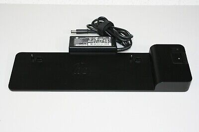 HP D9Y19AV EliteBook 2013 UltraSlim Docking Station w// HP 65W Power Adapter
