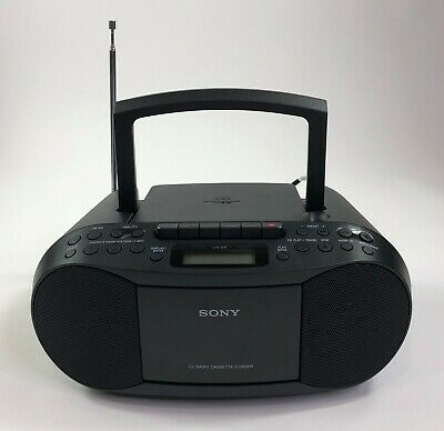 Sony CFD-S70 Boombox CD Radio Cassette-Corder Mega Bass MP3 Stereo Player